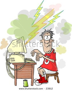 oops clipart computer