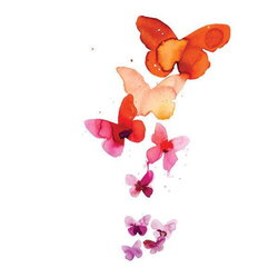 butterfly clipart orchid