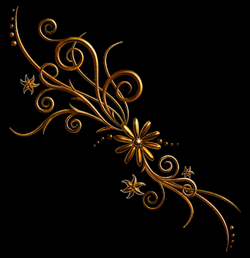 Floral Deco Ornament PNG Picture | Gallery Yopriceville - High ...