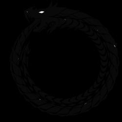 ouroboros transparent serpiente
