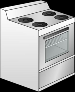 oven clipart stove