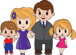 parents clipart trust