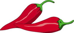 peppers clipart habanero