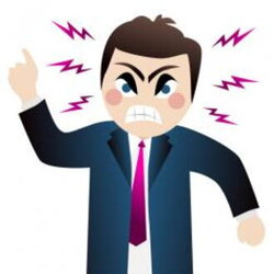 anger clipart dissatisfied customer