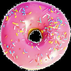 Image - Pink frosted sprinkled donut.png | Peridot Wikia | FANDOM ...