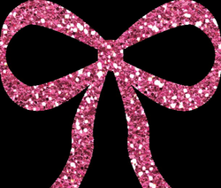 Pink Glitter Bow PNG by clipartcotttage on DeviantArt