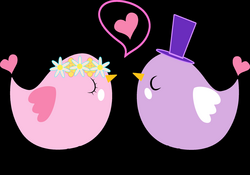 Formal Love Birds Icons PNG - Free PNG and Icons Downloads