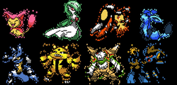 I have always been a fan of the old pokemon sprites so i demade some ...