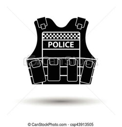 police clipart jacket