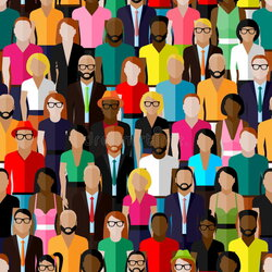 population clipart group man