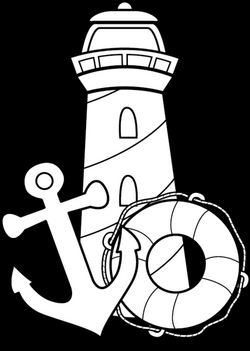 lighthouse coloring sheets - Yahoo Image Search Results | It's ...