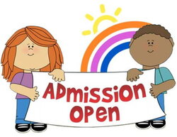 primary clipart admission open