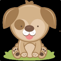 puppy svg cute clipart