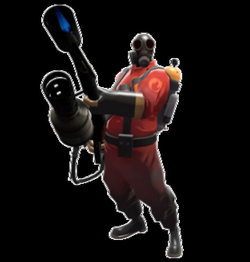 pyro transparent holding