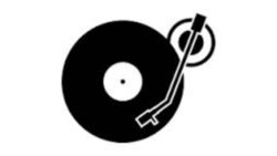 record clipart printable