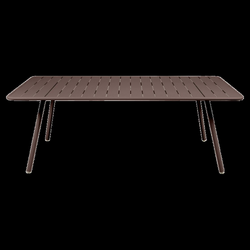 207x100 cm Luxembourg table, outdoor metal table