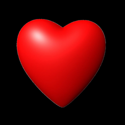 3D Red Heart PNG Image | PNG Mart