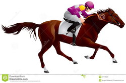riding clipart ky derby