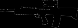svg 76 rifle