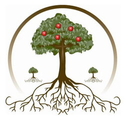 roots clipart apple tree
