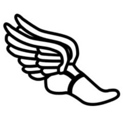 Track Shoe with Wings Clip Art | Track | Pinterest | Clip art ...