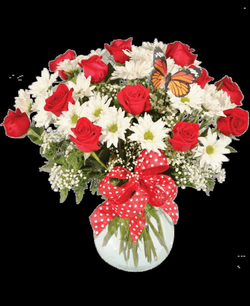 Rose & Daisy Bouquet, Yellow   Royer's flowers and gifts - Flowers ...
