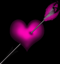 Download HD Image Library Stock Rustic Arrow Clipart - Purple Heart ...