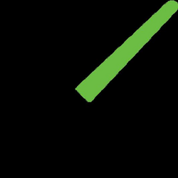 Light Saber Green Icon | Download Star Wars Vector icons | IconsPedia