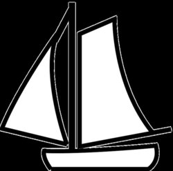 Free Image on Pixabay - Sailboat, Outline, White, Sport | Outlines