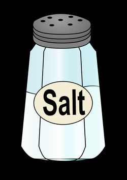 salt clipart salty face