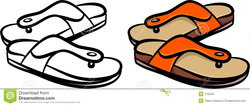 slippers clipart sandal