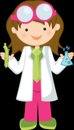 woman clipart science