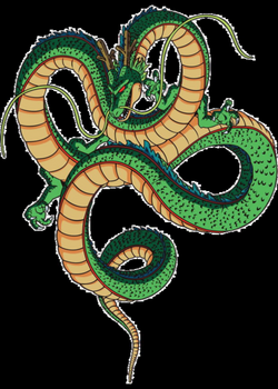 shenron transparent eternal dragon