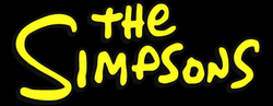 simpsons logo png