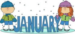 skating clipart january newsletter