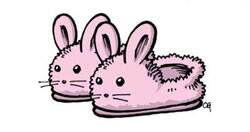 slippers clipart bunny slipper