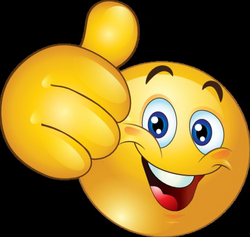 Thumbs Up Happy Smiley Emoticon Clipart Royalty Free | beginning ...