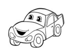 smiley clipart car