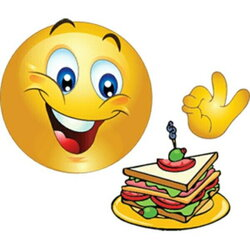 smiley clipart food