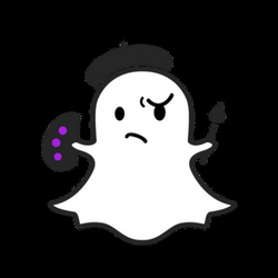 Snapchat Ghost Outline transparent PNG - StickPNG