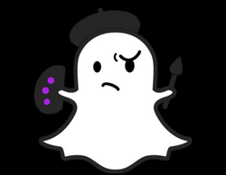 Snapchat Painter Ghost transparent PNG - StickPNG