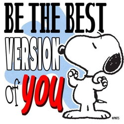 snoopy clipart confident