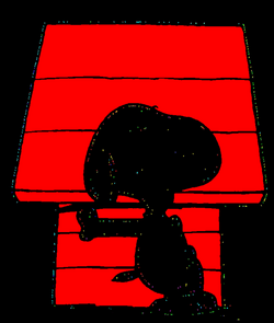 snoopy dog house png