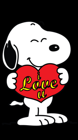 snoopy love png