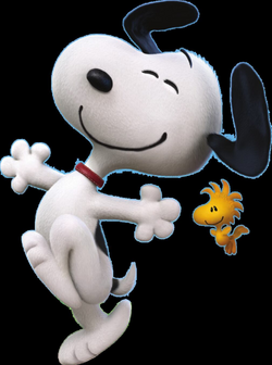 snoopy peanuts movie png