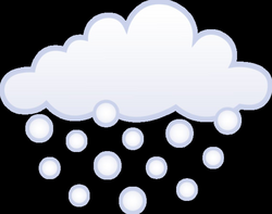 Snowfall Clipart Snow Flurry Free collection | Download and share ...