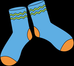 Long Socks Clipart