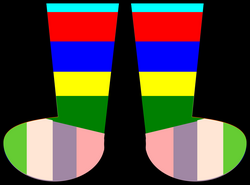 Rainbow Socks Icons PNG - Free PNG and Icons Downloads