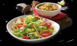 soup and salad png