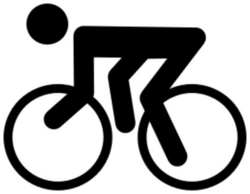 cycling clipart - /recreation/sports/sports_icons/cycling_clipart ...